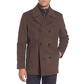 Kenneth Cole New York Men's Wool-Blend Coat