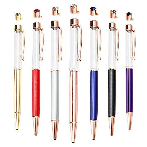 PASISIBICK Empty Tube Floating DIY Gift Pens,Building your favorite Liquid Sand Pens(20 pcs)