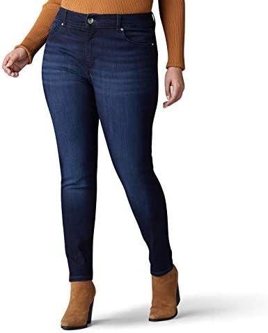 Lee Women s Plus Size Sculpting Slim Fit Skinny Leg Jean Nightingale 20W Medium product image
