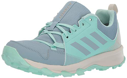 adidas outdoor Women's Terrex Tracerocker GTX Trail Running Shoe, ASH Grey/ASH Grey/Clear Mint, 9 M US