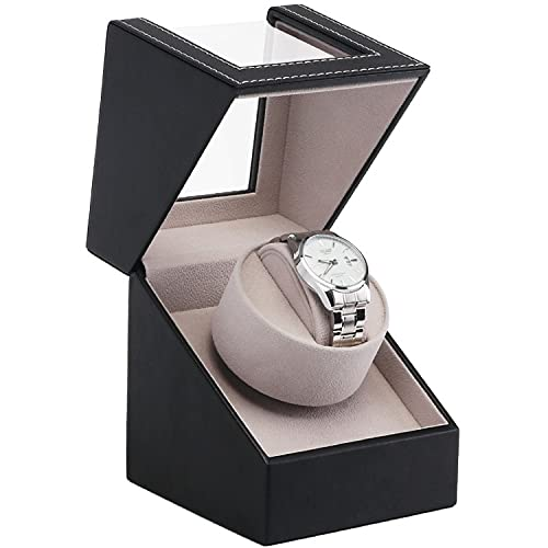 Plug Scatola di avvolgimento dell'orologio Meccanico Automatico Motor Shaker Watch Winder Holder Display Organizer per la conservazione dei Gioielli per la Scatola dei ricordi delle Donne