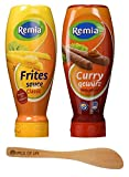 Remia Classic Frite Sauce Fritessaus (French Fry Sauce) and Curry Gewurtz (Curry Ketchup), 1 Bottle...