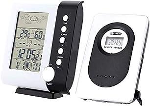 Andifany Ts-H105 433 Mhz Rf Estación Meteorológica Reloj Despertador Termómetro Digital Inalámbrico Higrómetro Temperatura Humedad Medición