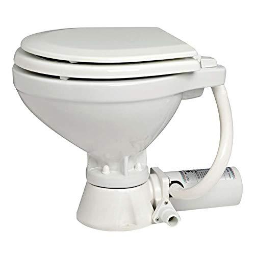 OSCULATI WC Elettrico 12 V tavoletta Legno
