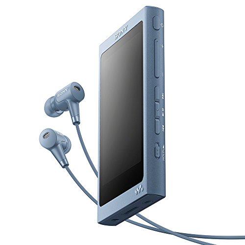 ソニー ウォークマン Aシリーズ 32GB NW-A46HN : Bluetooth/microSD/ハイレゾ対応 最大39時間連続再生 ノイズキャンセリングイヤホン付属 2017年モデル ムーンリットブルー NW-A46HN L