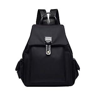 41Th Ey XJL. SS300  - Eshow Bolsa Mochila Escolar Casual Oxford Impermeable Negro