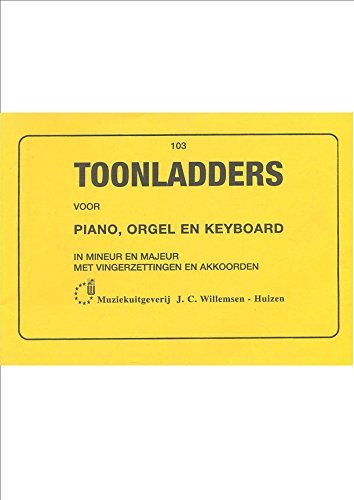 Toonladders voor piano (orgel/keyboard) - Book