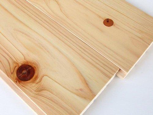 桧 無垢フローリング 圧密加工 節有 1枚物 自然塗装 長さ3.9m品