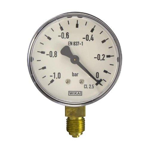 Manometer, NG63, -1-0 bar - WIKA 111.10 - 9012974