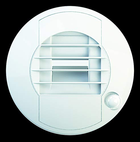 Ajustable Circle Bouche Aération Grille Housse 100mm Conduit Blanc Ventilation