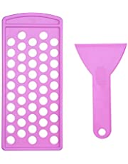 Lippenbalsem vullade en spatel set - snel en eenvoudig te gebruiken - gewoon gieten en verspreiden - Vult direct 50 lippenbalsemcontainers (apart verkrijgbaar) - Maak uw eigen natuurlijke lippenbalsem Chapsticks thuis