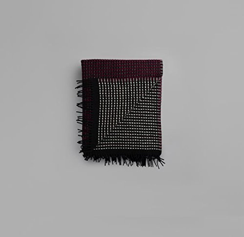 RGolds Tweed - Modell Lofoten - Plaid im Dessin 4553 Burgundy-Mint