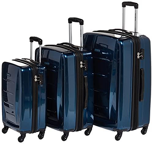Samsonite Winfield 2 Hardside Luggage with Spinner Wheels, Deep Blue, 2-Piece Set (20/24)