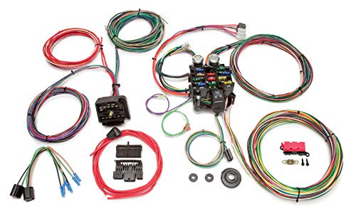 Painless Performance 10106 Classic Customizable Chassis Harness for 1976-1986 Jeep CJ - 22 Circuits