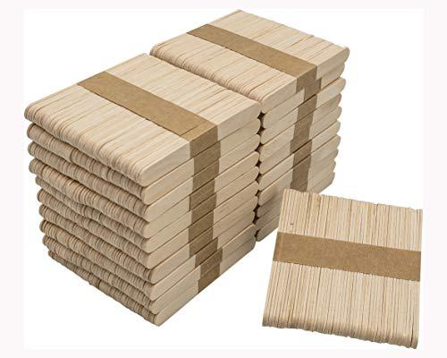 DON PALILLO - 1000 Palos de helado de madera de 10,5 cm....
