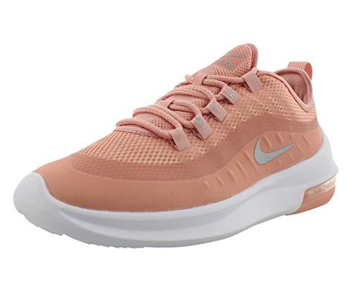 Nike Air MAX Axis Premium, Zapatillas de Atletismo Mujer, Multicolor (Coral Stardust/Metallic Silver/White 601), 38 EU