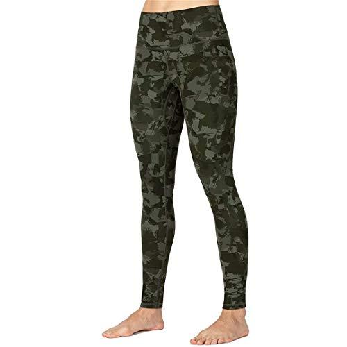 Womens Intimates Stretch Yoga Leggings de Cintura Alta Fitness Running Pantalones Activos de Cuerpo Entero AG S
