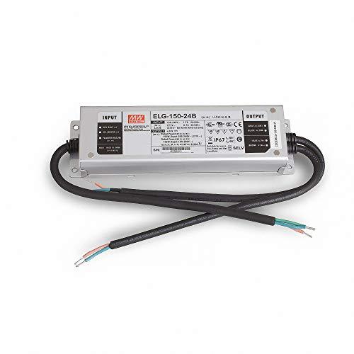 MeanWell Trafo/ELG-150-Schaltnetzteil: 24V/0-6,25A/150W - IP67 klassifiziert (dimmbar)