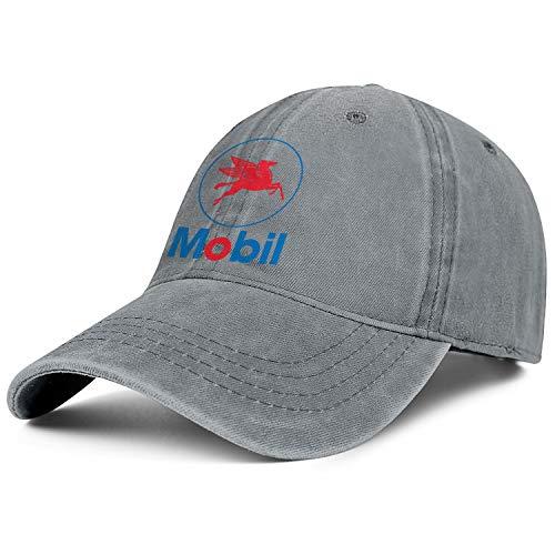 Exxon Mobil Logo Cowboys Cap One Size Professional Relaxed Cowboy Cap Herren Damen