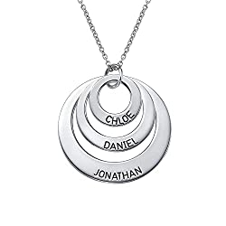 Monogramed Necklace - 2015 Mother's Day Gift Ideas