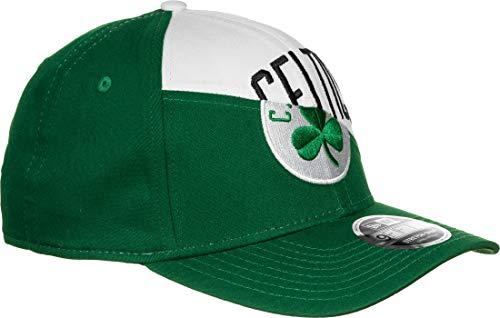 New Era NBA Team Split Stretch Snap Boston Celtics Gorra Official Team Colour