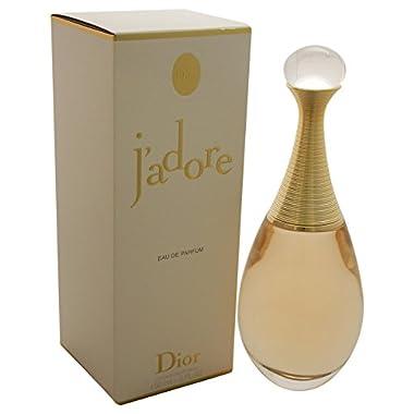 CHRISTIAN DIOR J'adore Eau de Parfum Spray for Women, 5 Fluid Ounce