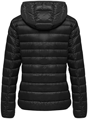 Wantdo Women's Hooded Packable Ultra Light Weight Short Down Jacket