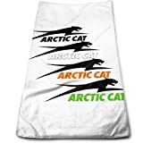 chenguang4422 ARC-Tic Cat 12x27.5 in Rectangular Fluffy Towel Luxury Hotel & SPA Towel Microfiber Soft Face Towel Super Absorbent Sweat Towel Hand Towel Customizable Towels