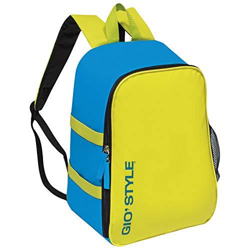 Gio'Style 2305302 Zaino Frigo Termico Giallo Blu 26x18xh36 14,5 Litri