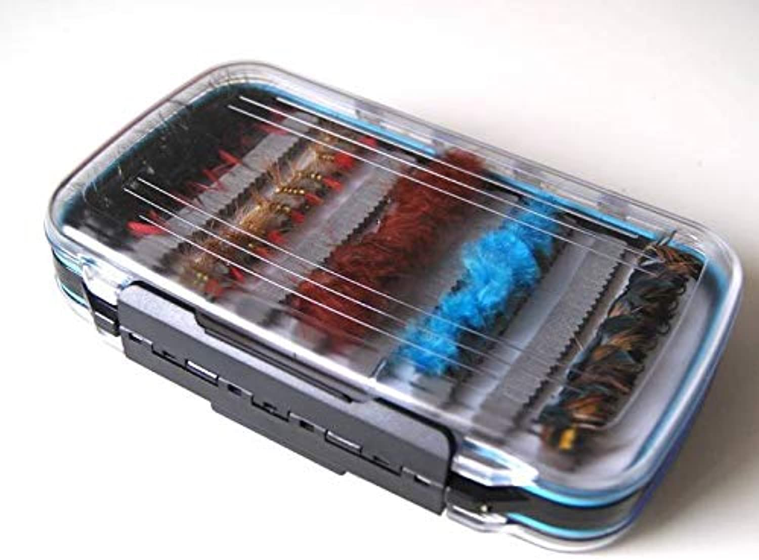 FidgetKute Big Fly Box Packed w  90 New Assorted Nymphs Check Out This Waterproof Box Lb21
