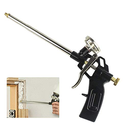Pistola de espuma, Pistola de espuma expansible profesional, Pistola de espuma de poliuretano para trabajo pesado, Pistola de...