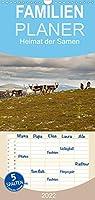 Heimat der Samen - Familienplaner hoch (Wandkalender 2022 , 21 cm x 45 cm, hoch): In Finnlands Norden kann man dem Laerm und der Hektik entfliehen und die Ruhe und Stille in der Wildnis finden. (Monatskalender, 14 Seiten )