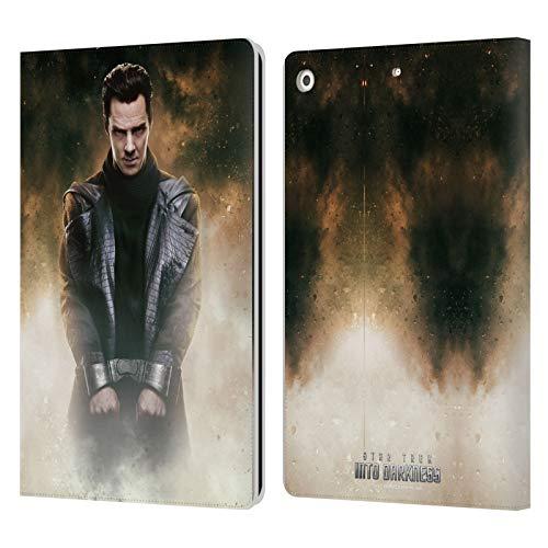 Head Case Designs sous Licence Officielle Star Trek Khan Couvertures de Magazine dans Obscurité XII Coque en Cuir à Portefeuille Compatible avec Apple iPad 10.2 (2019)/(2020)