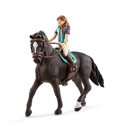 SCHLEICH Horse Club, Lisa i Storm, Mehrfarbig, 42516