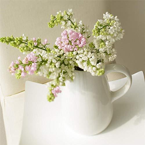 FlduodFruit bloemen vaas servies poster Nordic stijl keuken decoratie woonkamer decoratie wall art 3 pieces40x40 CM Unframed