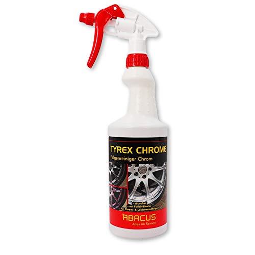 ABACUS 750 ml TYREX Chrome- Felgenreiniger für Chromfelgen Felgenreinigungsmittel auf Reduktionsbasis (4610)
