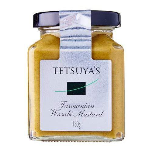 Tetsuya Wasabi Mustard 180g - Tetsuya ha preso l'ispirazione di una tradizionale senape di Digione e ha creato un condimento con il sapore wasabi della sua patria