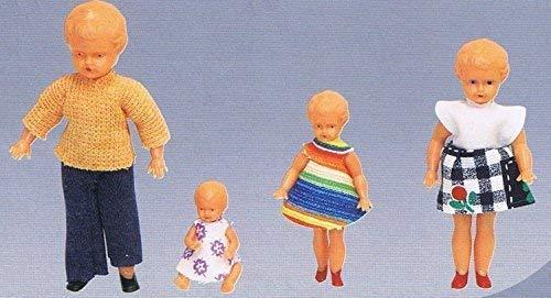 Rülke Holzspielzeug 97200 Minipuppen, bunt