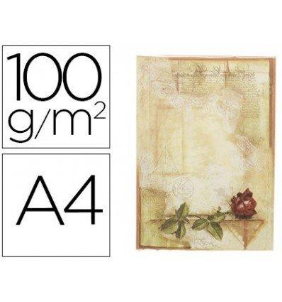 Liderpapel 78500 - Pack de 12 hojas de papel pergamino, A4