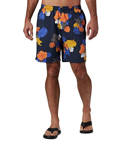 Columbia Big Dippers - Pantalones Cortos acuáticos para Hombre, Talla M, Color Azul Marino