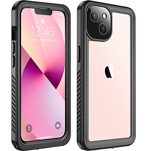 SPIDERCASE Designed for iPhone 13 Mini Case, Waterproof Built-in Screen Protector, Shockproof Full Body Cover Rugged Case for iPhone 13 Mini...