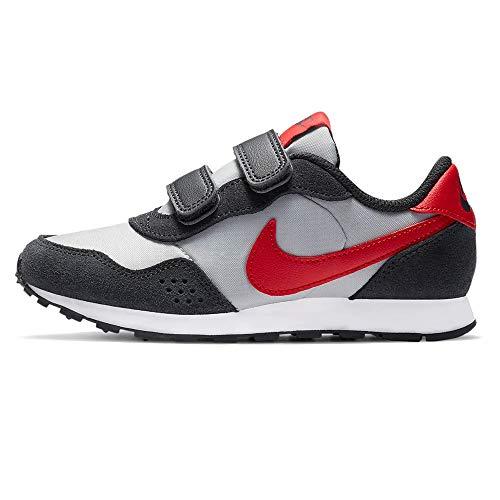 Nike MD Valiant (PSV), Scarpe da Ginnastica, Grey Fog University Red Dk SMO, 34 EU