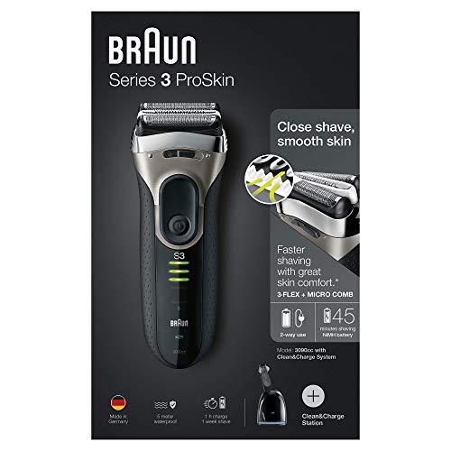 Braun Series 3 ProSkin 3090cc Elektrorasierer, Auslaufmodell