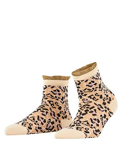 FALKE Damen Wild Beauty Lässige Socken, beige (Sandstone 4024), 39-42