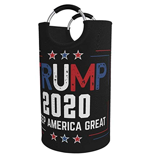 Suzanne Betty Trump 2020 - Cesto plegable para la colada (82 L, con asas de aluminio)