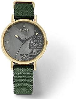 Zyros Dress Watch For Women Analog Nylon - ZAN004L010854