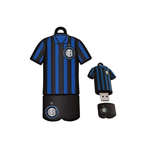 Inter Chiavetta USB, Nero/Azzurro