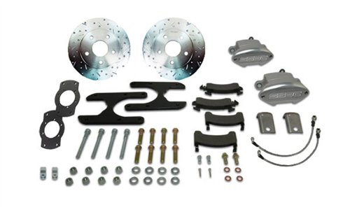 SSBC W155-3 At The Wheels Rear Sport R1 Drum to Disc Brake Conversion Kit