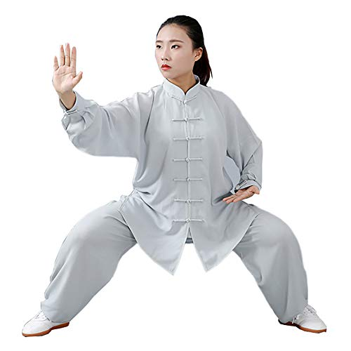 Daoba Unisex Kung Fu Uniform Tai Chi Kampfkunst Kleidung Wushu Anzug Trainingsanzug Tops Und Hose