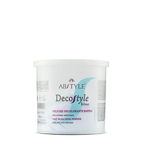 Ab Style | Decostyle Blue – Polvere decolorante rapida con azione antirosso adatta a schiariture intense e progressive(500g)